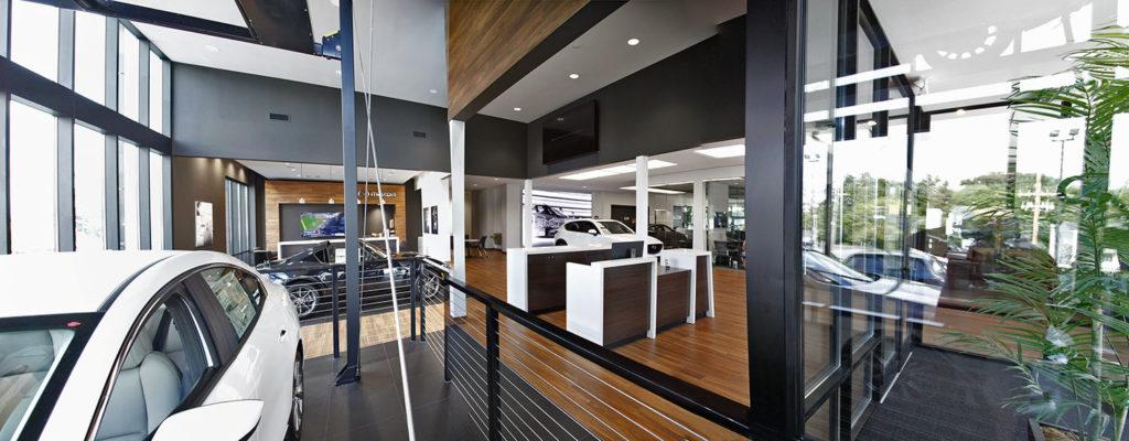 interior of Mazda