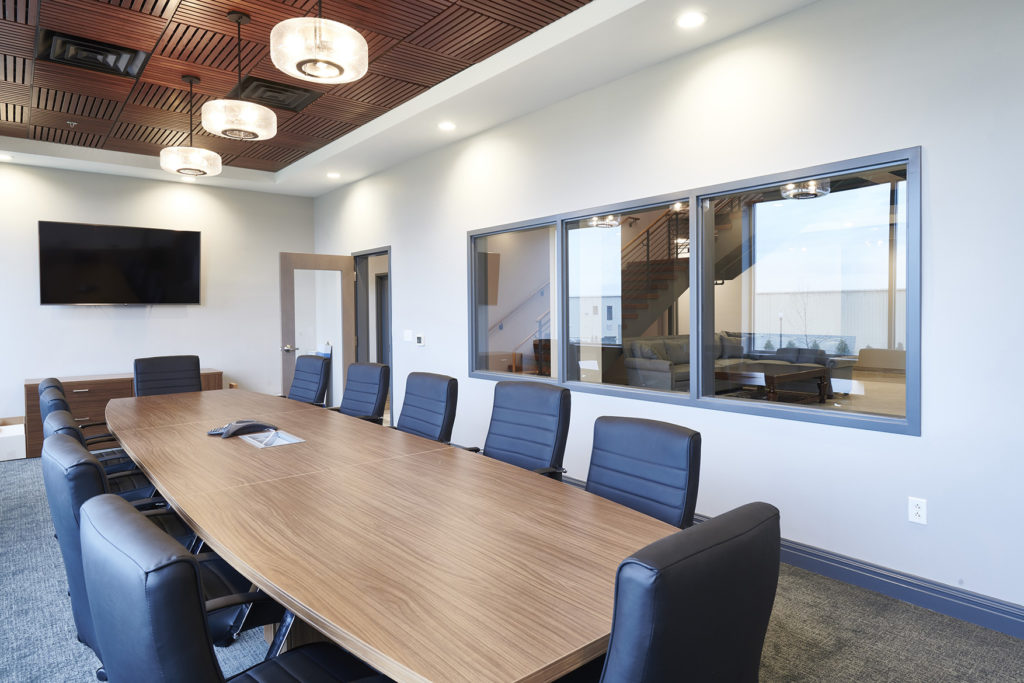 interior meeting room